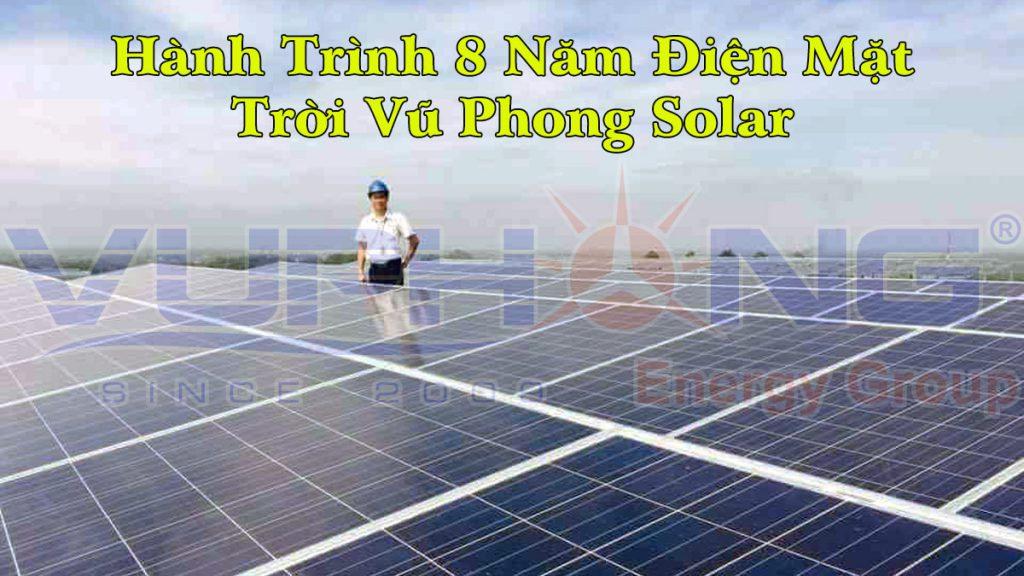 Hành trình 8 năm điện mặt trời Vu Phong Solar