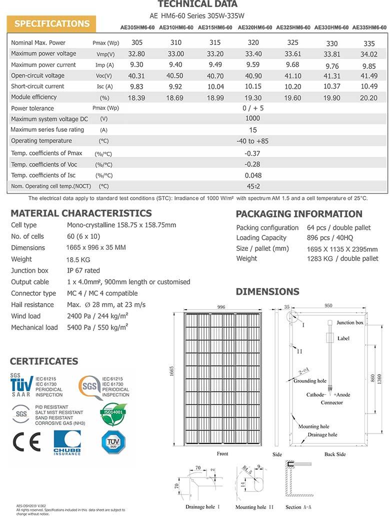 AE-HM6-60-Series-305-335